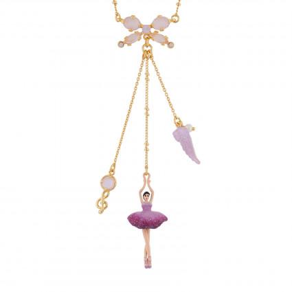 La Diamantine Necklace: Faceted glass