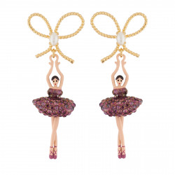 Clip-on Earrings With Bow...