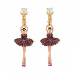 Clip-on Earrings Ballerina...