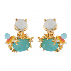 Clip-on Earrings With Stone...