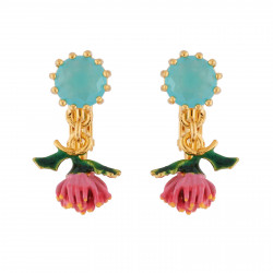 Clip-on Earrings Blue...