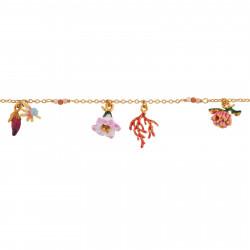 Bracelets Charms Bracelet Fleurs Et Branche De Corail120,00€ AIFM201/1Les Néréides
