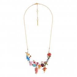 Colliers Plastrons Collier Couture Bouquet D'une Flore Mystérieuse