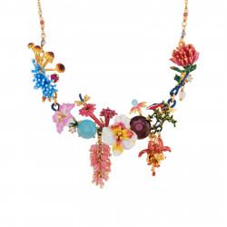 Colliers Plastrons Collier Couture Bouquet D'une Flore Mystérieuse350,00€ AIFM301/1Les Néréides