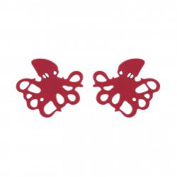 Boucles D'oreilles Boucles D'oreilles Pieuvre Rose40,00€ AIIL104T/1N2 by Les Néréides