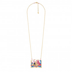 Long Necklace Featuring The...