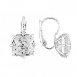 Boucles D'oreilles Dormeuses Boucles D'oreilles Dormeuses Pierre Carré La Diamantine Silver Cristal50,00€ AILD101D/3Les Néré...