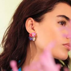 Boucles D'oreilles Pendantes Boucles D'oreilles Tiges 7 Pierres La Diamantine Cristal130,00€ AILD121T/2Les Néréides