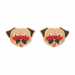 Charming Pug Earrings