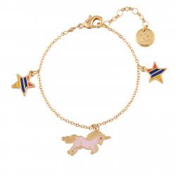 Bracelets Bracelet Pampilles Licorne Girly Et Étoiles50,00€ AILP201/1N2 by Les Néréides