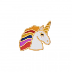 Rainbow Mane Unicorn Pin