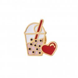 Accessoires Pin's Bubble Tea De L'amour