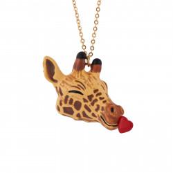 Colliers Sautoir Girafe Pleine D'amour