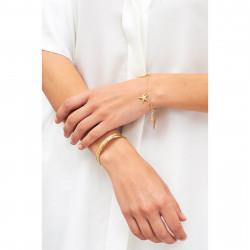 Bracelets Charms Bracelet Branche De Corail, Étoile De Mer Et Plume