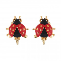 Clip-on Earrings Ladybug...