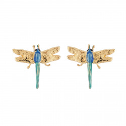 Earrings Dragonfly With...