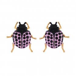 Pendientes Escarabajo Color...