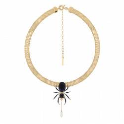 Choker Necklace Spider...