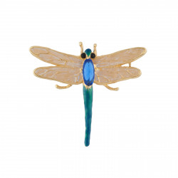 Brooch With Golden Wings...