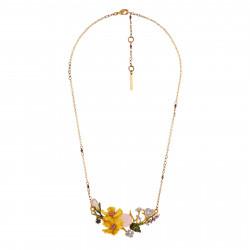 Collar Flores Amarillas Y...