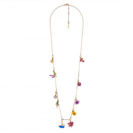 Charm Necklace Flowers Symphony Les Nereides
