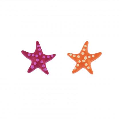 Boucles D'oreilles Boucles D'oreilles Duo D'étoiles De Mer