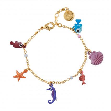 Bracelets Bracelet Multi Pampilles De Sous L'océan