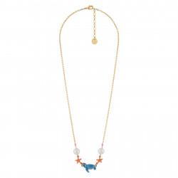 Colliers Collier Petite Tortue, Étoiles De Mer Et Perles60,00€ AISO306/1N2 by Les Néréides