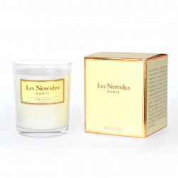 Pale Green Scented Candle