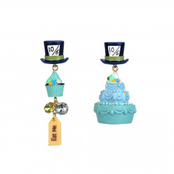 Earrings With Cakes And Hats