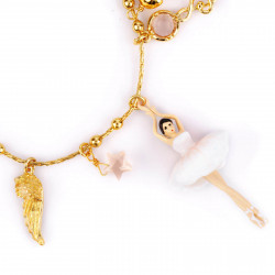 Bracelets Charms Bracelet Danseuses Étoiles À Breloques Blanc110,00€ WDD201/2Les Néréides