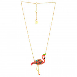 Colliers Collier Francis Le Flamant Rose