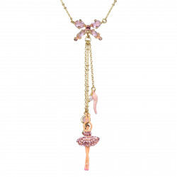 Necklace With Ballerina And...