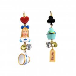Boucles D'oreilles Boucles D'oreilles Dormeuses Pendantes Alice Et Cupcake55,00€ ZTA103D/1N2 by Les Néréides