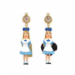 Pendant Earrings With Alice