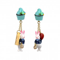 Pendant Earrings With...