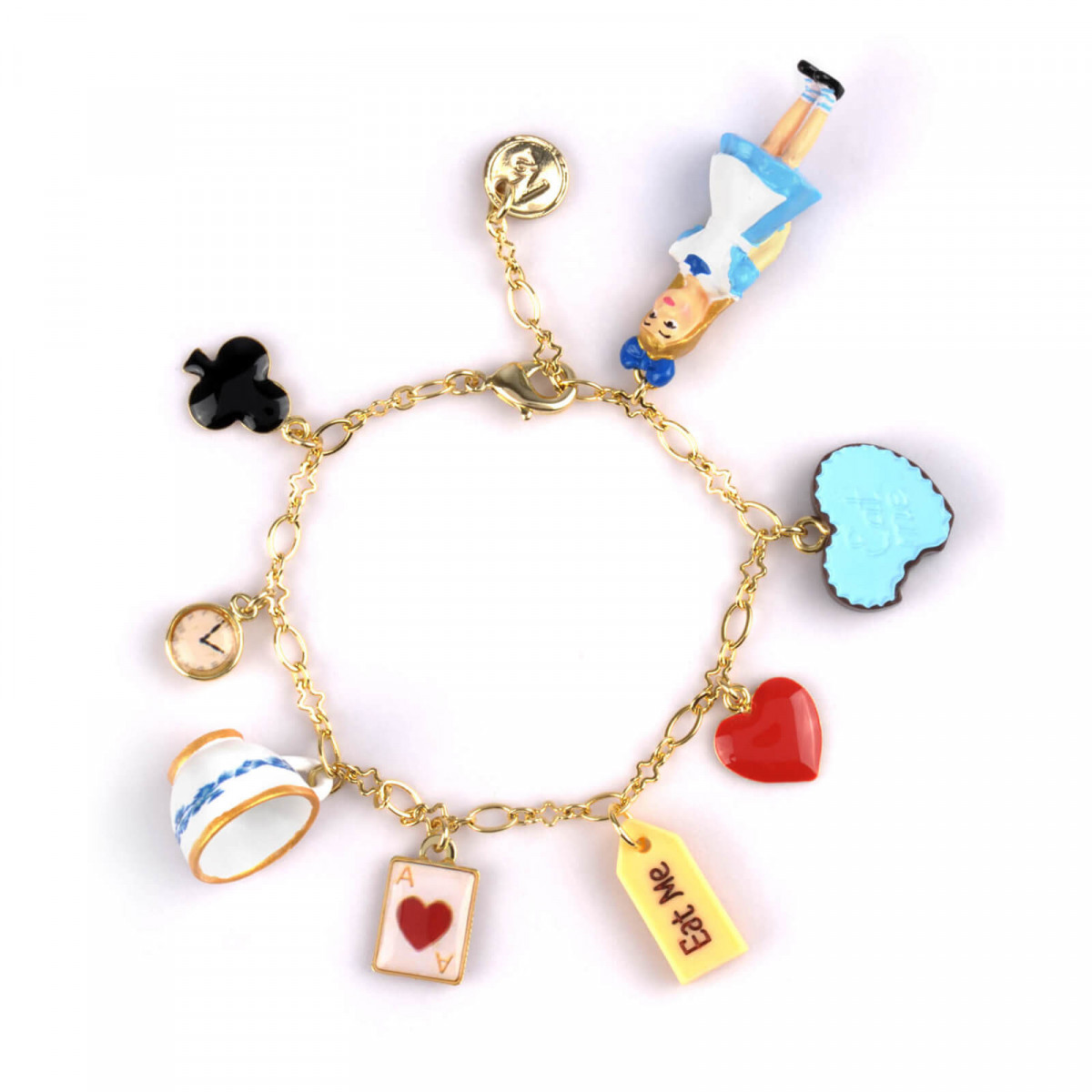 Bracelets Bracelet Alice Avec Charms Gourmands