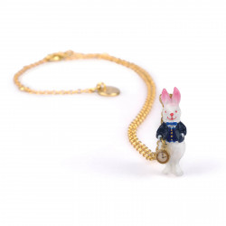 Colliers Collier Le Lapin Blanc