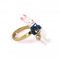 Ring White Rabbit