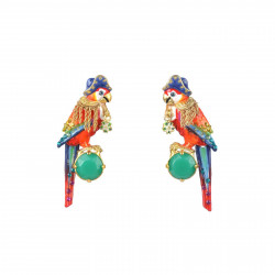 Earrings Jack The Parrot,...
