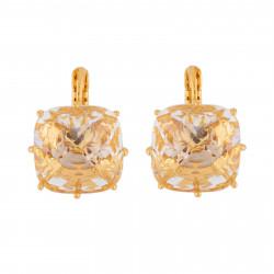 Boucles D'oreilles Dormeuses Boucles D'oreilles Dormeuses Grande Pierre Carré La Diamantine Cristal60,00€ AILD139D/2Les Néré...