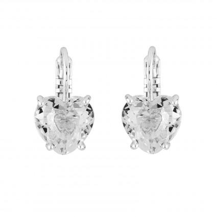 Boucles D'oreilles Dormeuses Boucles D'oreilles Dormeuses Pierre Cœur La Diamantine Silver Cristal50,00€ AILD145D/3Les Néréides