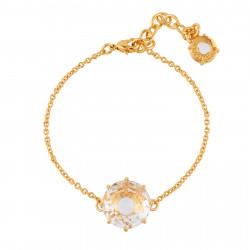 Bracelets Fins Bracelet Pierre Ronde Cristal50,00€ AILD202/2Les Néréides