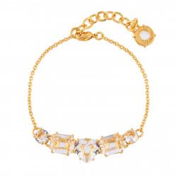 Bracelets Fins Bracelet 5 Pierres Cristal80,00€ AILD214/2Les Néréides