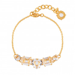 Bracelets Fins Bracelet 5 Pierres Cristal