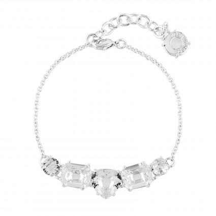 Bracelets Fins Bracelet 5 Pierres Silver Cristal80,00€ AILD214/3Les Néréides