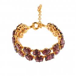 Bracelets Charms Bracelet Luxe Deux Rangs Prune250,00€ AILD216/1Les Néréides