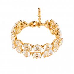 Bracelets Charms Bracelet Luxe Deux Rangs Cristal250,00€ AILD216/2Les Néréides
