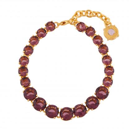 Bracelets Fins Bracelet Luxe Un Rang Prune130,00€ AILD252/1Les Néréides