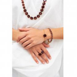 Bracelets Fins Bracelet Luxe Un Rang Prune